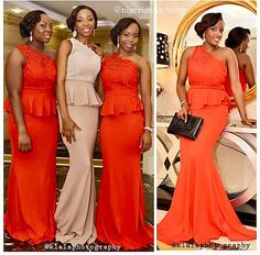 Would be nice as bridesmaid dresses