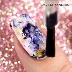 Amazing nails by @sveta_sanders 💜✨