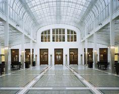 Otto Wagner, Austrian Postal Savings Bank, Vienna, Austria, 1904-6