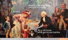 History memes george washington hilarious Ideas for 2019 Funny Art, The Funny, Art History Memes, Funny History, Women's History, British History, Ancient History, American History, Native American
