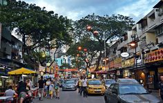 Jalan Alor in Kuala Lumpur