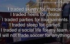 The life of a soccer player