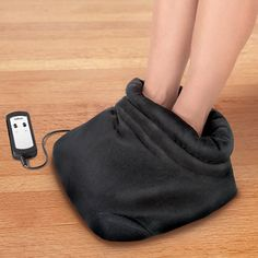 The Shiatsu Heated Foot Massager - Hammacher Schlemmer