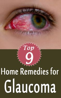 Home Remedies for Glaucoma