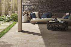 Tile- Stoneway Collection 30x60, 60x60 /by RAGNO #Sangahtile #tile #tiles #interior #garden #beigetile #natural #stonetile #상아타일 #수입타일 #마당 #외부타일 #타일 #인테리어