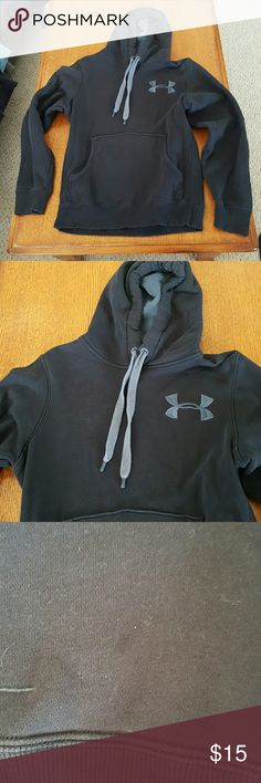 Boys Under Armour hoodie Good condition has small stain please see photo 3 Under Armour Tops