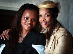 HRH Princess Sikhanyiso and her mother Queen La-Mbikiza ahead her graduation from Sydney University
