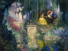 """♥ Thomas Kinkade """"Disney"""" ♥"""