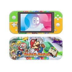 Paper Mario origami king Nintendo switch lite Skin | switch lite decal | Console skins world