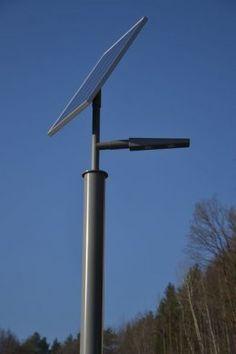 Ecolights SUNLUX C100 Die Lampe in Kürze: Lichtpunkthöhe: 4,2 Meter Gesamthöhe: 5,4 Meter Material: Aluminium, pulverbeschichtet Solarmodul: 100Wp Rahmen- oder Laminatmodul Akku: 56 Ah wartungsfreier Solar-Gel-Akku