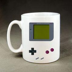 DIGITAL GAMEBOY Tetris COFFEE Mug  by NAPcoByPutri on Etsy