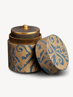 Fabulous Fortuny. Here, the L'Objet Fortuny Pleats Candle - Maori Blue.