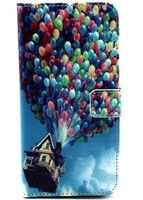 phone6 Plus flying balloons Pattern Leather Case for Apple Iphone 6 Plus Iphone6 Plus Protective Case Phone Bag Back Cover