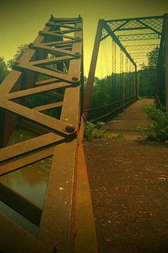 Old iron bridge.. Limestone, TN
