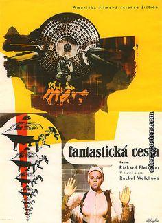 Fantastic Voyage (1966). Czech poster.