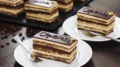 Opera Cake Recipe - YouTube