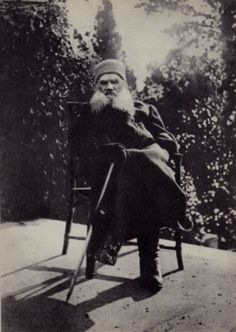 Russia Old Card Photo Famous Russian Writer Leo Tolstoy in 1901 | eBay
