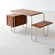 Tubular steel desk 30s - Image 8