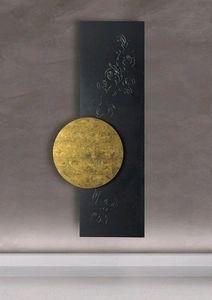 gold leaf abstract painting gift office decor von ateliermaltopf ... - Moderne Heizkorper Fur Wohnzimmer