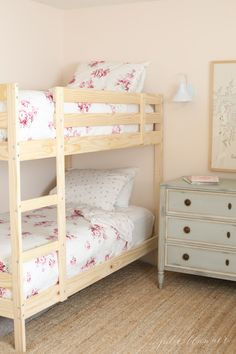 How to decorate a bunk bed room