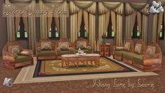 Khany Sims - Maroc Living room by Souris.