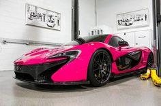 Pink McLaren P1