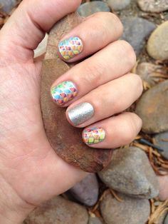 Jamberry Chameleonaire with Jamberry Diamond Dust Sparkle  - Jamberry Nail Wraps are Buy 3, Get 1 FREE! Click here to order -> www.nicoleknaus.jamberrynails.net