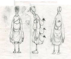 Sketch by Dina Velikovskaya