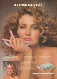 Clairol Benders Hot Rollers Ad From Magazine August 1987 80s Fashion Hair