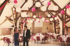 wedding venue balloons
