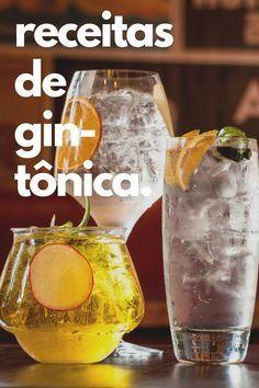 Confira 5 receitas de gin tônica com passo-a-passo! Drinks com poucas calorias e muito sabor: da gin tônica tradicional a mais moderninha. Clique no link para ler! #distillates #destilados #gintônica #gin #drinks