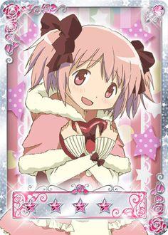 Madoka - Madoka Magica Valentine's Day  - Madoka Magica Mobage Cards