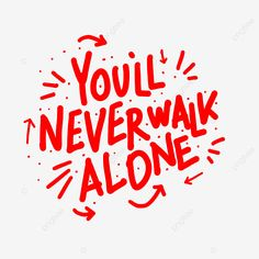 Walking Alone Quotes, Best Free Script Fonts, Night Illustration, You'll Never Walk Alone, Hand Logo, Text Effects, Animal Logo, Layout Template, Presentation Templates
