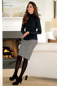 Wool Pencil Skirt   Chadwicks of Boston