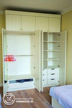 Распашной шкаф из МДФ в детскую комнату