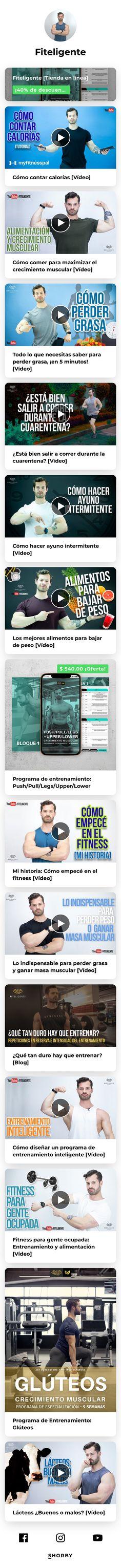 - Médico Interno de Pregrado - Entrenador - YouTube [150k+] - Fitness inteligente y basado en ciencia Youtubers, Landing, Fitness, Content, Santiago, Athlete, Science, Training