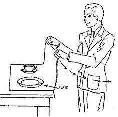 Inertia Definition:the property of any body to resist changes in its state of motion.  Example: When the person gently pulls the tablecloth, the plate and cup will stay in place due to inertia. The plate and cup will resist a change in motion.