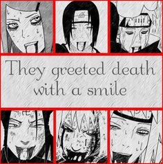 Naruto: Smiling at Death by ManosRockman