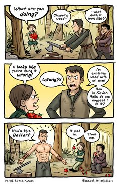 Check out these amazing Game of Thrones comics that are prepared for Game of Thrones Season 8 by Azad-Injejikian. These are really hilarious. Game Of Thrones Comic, Game Of Thrones Quotes, Game Of Thrones Funny, Valar Dohaeris, Valar Morghulis, Sansa Stark, Game Of Thrones Instagram, Game Of Thones, Got Memes