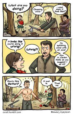 ARYA-x-Gendry  - ASoIaF / Game of Thrones by Azad-Injejikian.deviantart.com on @deviantART