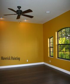 yellow dining room painting ideas
