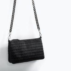 ZARA - WOMAN - QUILTED MESSENGER BAG