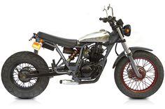 "Yamaha TW200 ""Blaster"" by Deus Customs. http://deuscustoms.com/bikes/model/blaster/"