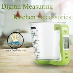 A Digital Measuring Kitchen Accessories is an item that your clients will find very useful. Not only is it well designed, its baking and pastry tool prospects will use it more often which means that your brand will be seen more often.
