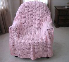 Butterfly Wings Free Crochet Afghan Pattern