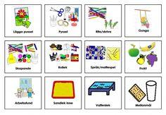 Mariaslekrum - Bildstöd. Learn Swedish, Swedish Language, Learn English Grammar, Aspergers, Pictogram, Sign Language, Adhd, Activities For Kids, Kindergarten