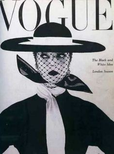 Vintage Vogue magazine covers - mylusciouslife.com - Vintage Vogue UK June 1950.jpg -  Photo Irving Penn