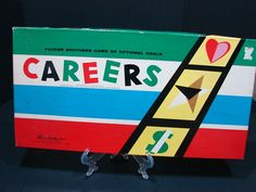 Careers Game Vintage Board Game Classic Game by Reclaimability, $24.50 - I always loved playing Careers with my sister and my cousin when we were growing up!