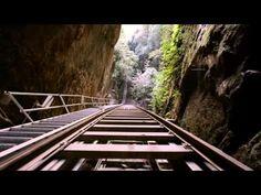 Scenic Railway, Scenic World. Blue Mountains Australia.Scenic World