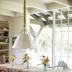 22 Ways to Use Nautical Rope and Sisal Twine for Elegant Interior Decorating
